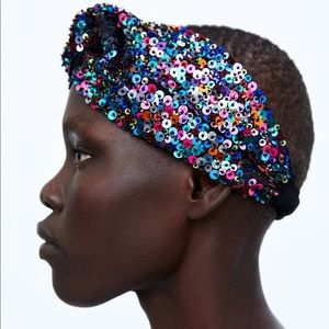 Zara Sequin Headband